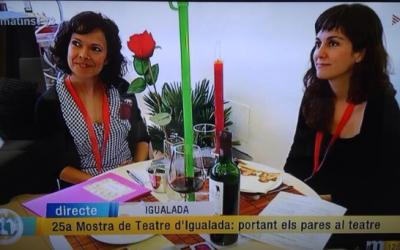TV3 al sopar romàntic de Tanaka a La Mostra