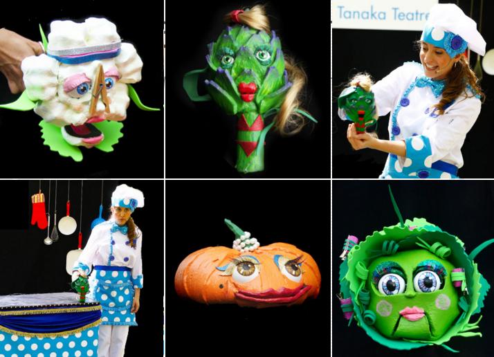 BON PROFIT - teatre per nens sobre alimentació saludable - Tanaka Teatre