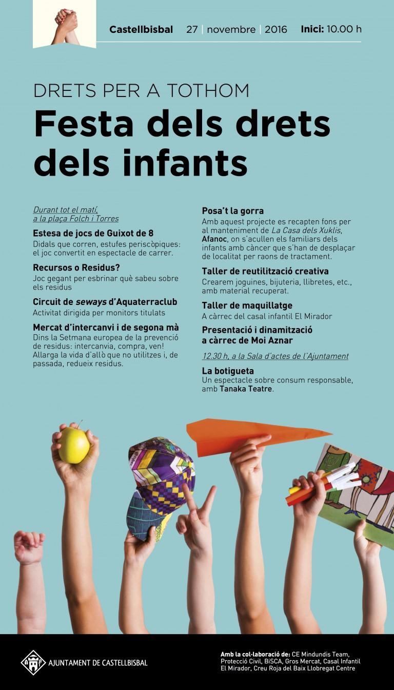 Festa dels drets dels infants | 27/11 Castellbisbal