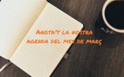 Agenda d'espectacles MARÇ 2017