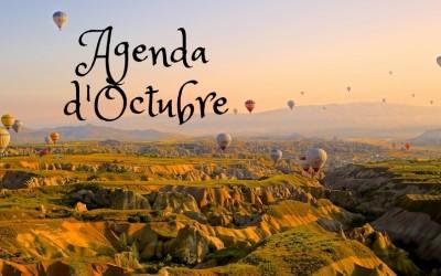 Agenda d'actuacions OCTUBRE 2017
