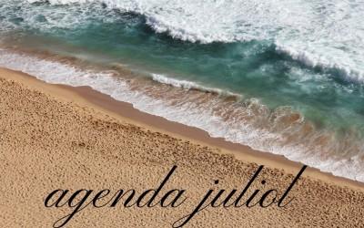 Agenda d'actuacions JULIOL 2017